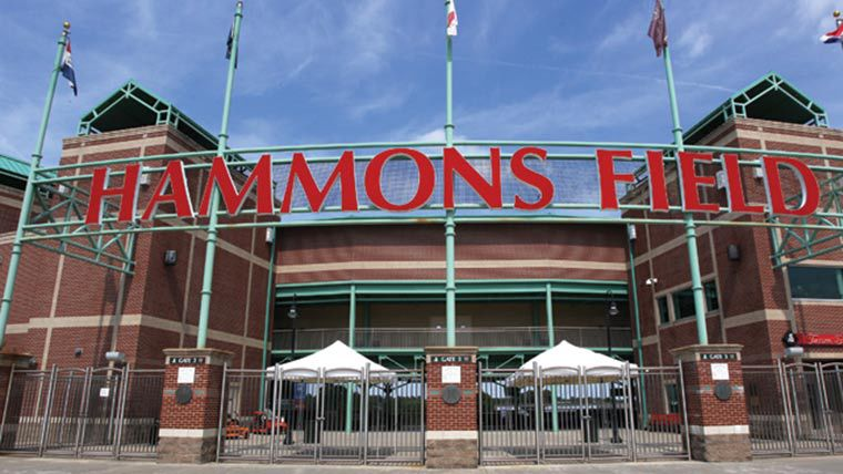 The front gates of Hammons Field